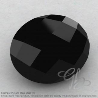 Black Spinel Oval Shape Calibrated Briolettes
