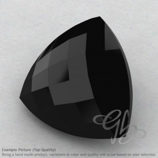 Black Spinel Trillion Shape Calibrated Briolettes