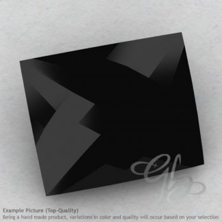Black Spinel Baguette Shape Calibrated Briolettes