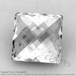 Crystal Quartz Square Shape Calibrated Briolettes