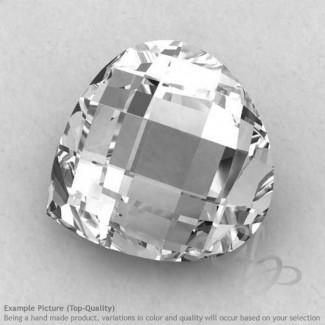 Crystal Quartz Heart Shape Calibrated Briolettes