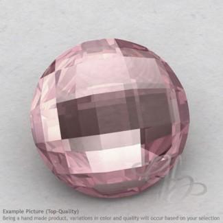 Rose Quartz Round Shape Calibrated Briolettes
