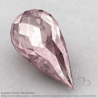 Rose Quartz Drops Shape Calibrated Briolettes