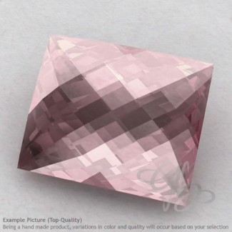 Rose Quartz Baguette Shape Calibrated Briolettes