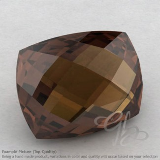 Smoky Quartz Cushion Shape Calibrated Briolettes