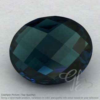 London Blue Topaz Oval Shape Calibrated Briolettes