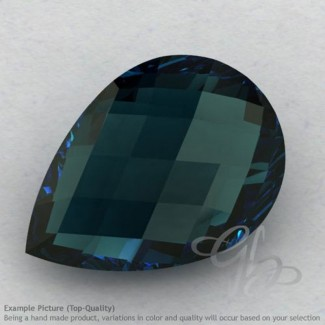 London Blue Topaz Pear Shape Calibrated Briolettes