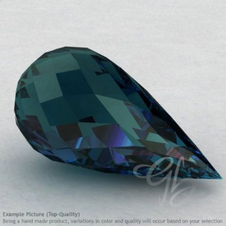 London Blue Topaz Drops Shape Calibrated Briolettes