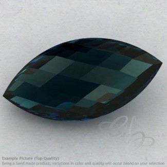 London Blue Topaz Marquise Shape Calibrated Briolettes