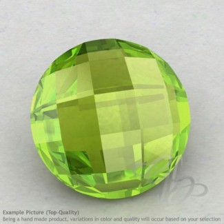 Peridot Round Shape Calibrated Briolettes