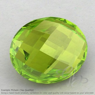 Peridot Oval Shape Calibrated Briolettes