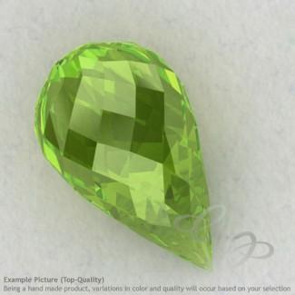 Peridot Drops Shape Calibrated Briolettes