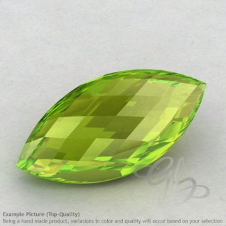 Peridot Marquise Shape Calibrated Briolettes