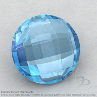 Sky Blue Topaz Round Shape Calibrated Briolettes