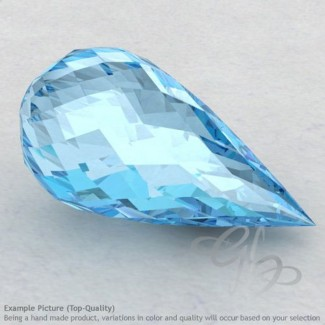 Sky Blue Topaz Drops Shape Calibrated Briolettes