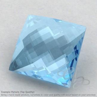 Sky Blue Topaz Square Shape Calibrated Briolettes