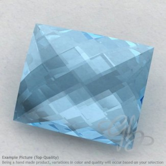 Sky Blue Topaz Baguette Shape Calibrated Briolettes
