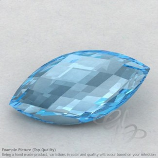 Sky Blue Topaz Marquise Shape Calibrated Briolettes