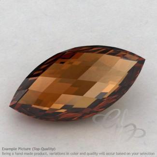 Cognac Quartz Marquise Shape Calibrated Briolettes