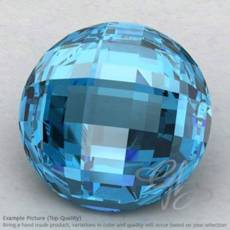 Swiss Blue Topaz Round Shape Calibrated Briolettes