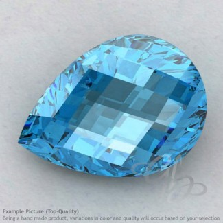 Swiss Blue Topaz Pear Shape Calibrated Briolettes