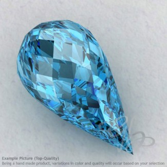 Swiss Blue Topaz Drops Shape Calibrated Briolettes