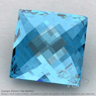Swiss Blue Topaz Square Shape Calibrated Briolettes