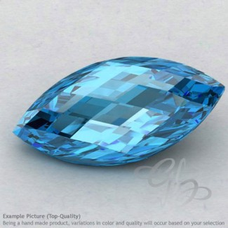 Swiss Blue Topaz Marquise Shape Calibrated Briolettes