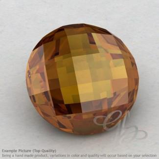 Honey Quartz Round Shape Calibrated Briolettes