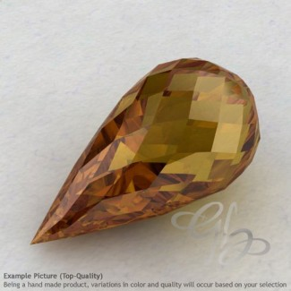 Honey Quartz Drops Shape Calibrated Briolettes