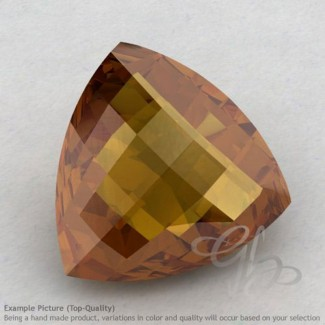 Honey Quartz Trillion Shape Calibrated Briolettes