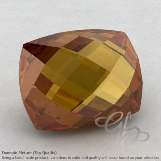 Honey Quartz Cushion Shape Calibrated Briolettes