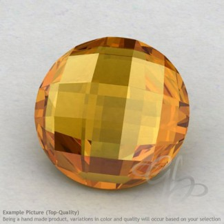 Citrine Round Shape Calibrated Briolettes