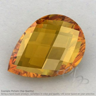 Citrine Pear Shape Calibrated Briolettes