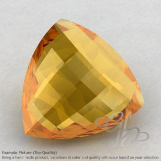 Citrine Trillion Shape Calibrated Briolettes