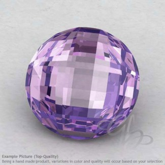 Brazilian Amethyst Round Shape Calibrated Briolettes