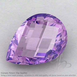 Brazilian Amethyst Pear Shape Calibrated Briolettes