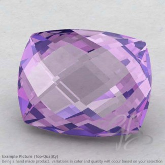 Brazilian Amethyst Cushion Shape Calibrated Briolettes