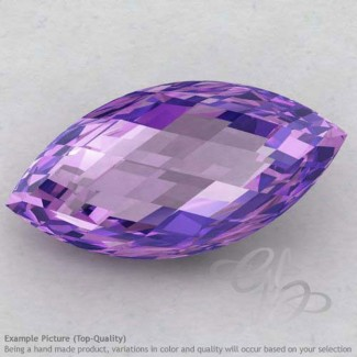Brazilian Amethyst Marquise Shape Calibrated Briolettes