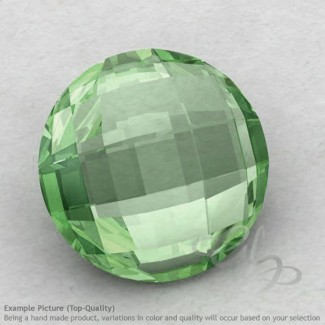Green Amethyst Round Shape Calibrated Briolettes