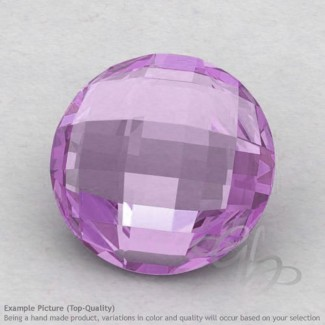 Pink Amethyst Round Shape Calibrated Briolettes