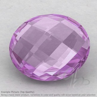 Pink Amethyst Oval Shape Calibrated Briolettes