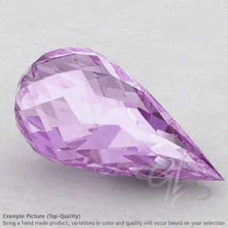 Pink Amethyst Drops Shape Calibrated Briolettes