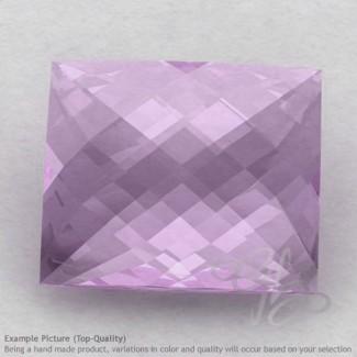 Pink Amethyst Baguette Shape Calibrated Briolettes