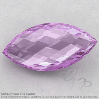 Pink Amethyst Marquise Shape Calibrated Briolettes