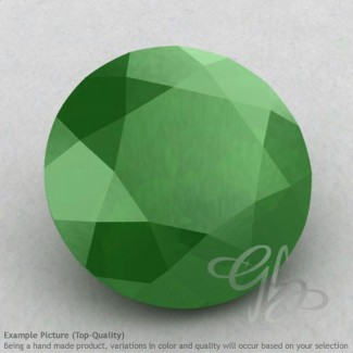 Natural Green Chalcedony Round Shape Calibrated Gemstones