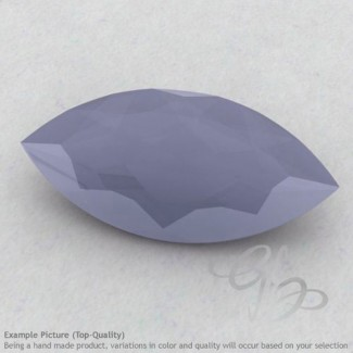 Natural Blue Chalcedony Marquise Shape Calibrated Gemstones