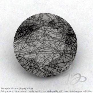 Black Rutile Round Shape Calibrated Gemstones