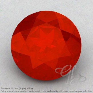 Carnelian Round Shape Calibrated Gemstones