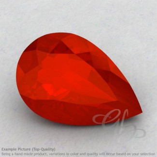 Carnelian Pear Shape Calibrated Gemstones